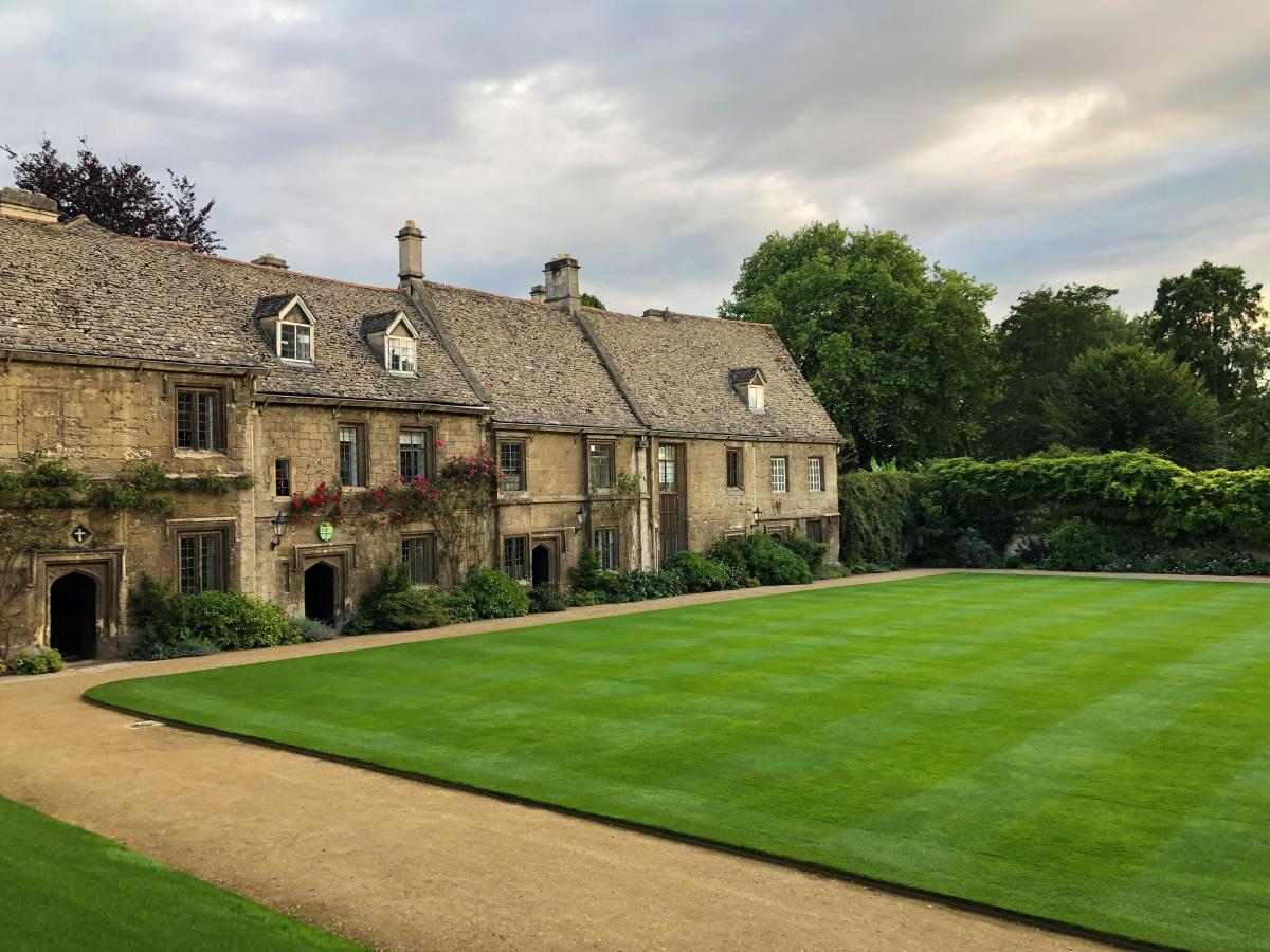 Worcester College at Oxford University