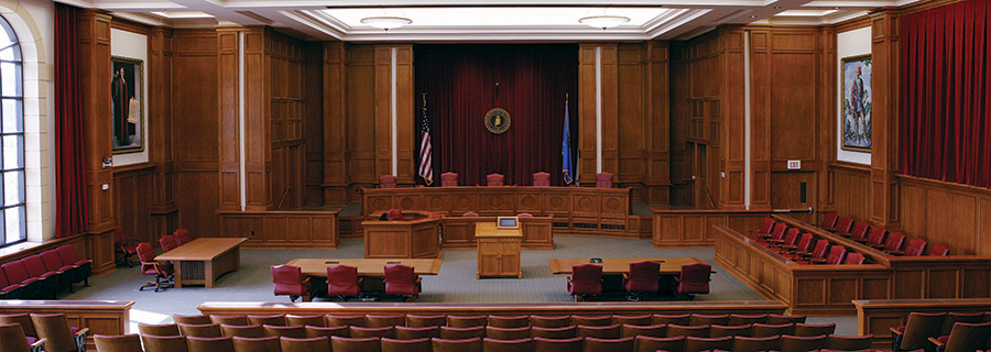 Dick Bell Courtroom