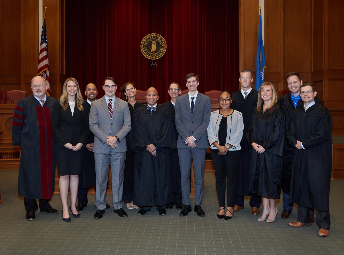 2017 Calvert Moot Court Competition Final Round Judges and Finalists