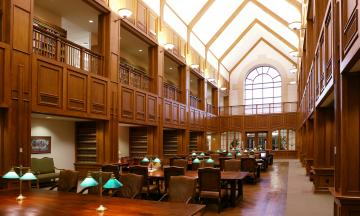 Photo of OU Law library