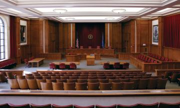 Dick Bell Courtroom at the University of Oklahoma