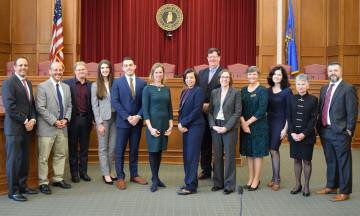 Dean Harroz, Joshua Davis (San Francisco Law), Stephen Henderson, Hayley Parker, Collen Steffen, Susan Morse (UT Austin), Christine Chambers Goodman (Pepperdine University), Brad Wendel (Cornell), Emily Taylor Poppe (University of California), Mary Sue Backus, Melissa Mortazavi, Susan Saab Fortney (Texas A&M), Kenton Brice.