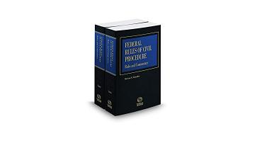 Cover of Federal Rules of Civil Procedure, Rules and Commentary, 2018 ed.