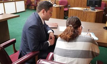 3L Matthew Acosta represents a defendant
