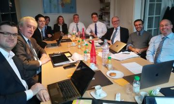 The ELI working group at its first meeting.