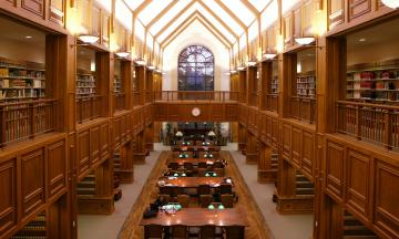 Donald E. Pray Law Library at OU Law