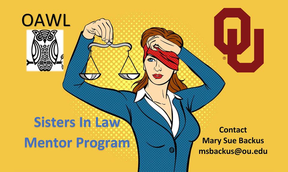 OAWL Sisters in Law Mentor Program