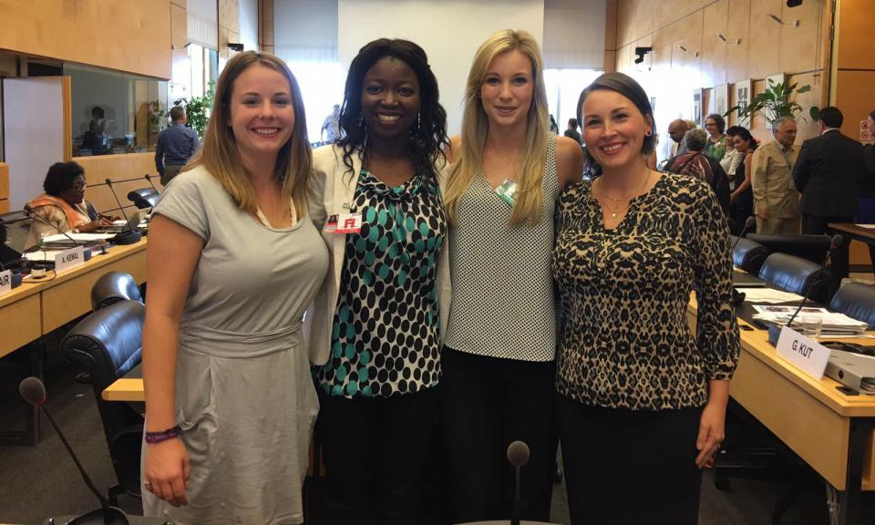 Jessica Ladd, Julie Hunter, Mackenzie Coplen, and Brandi Keesee
